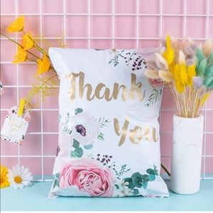 Pack (20pc) Thank you Polly mailers